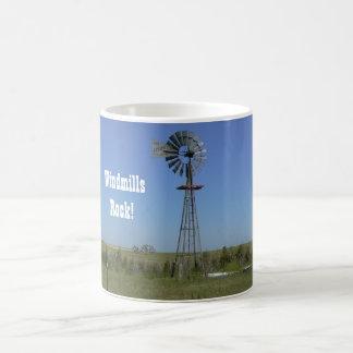 Windmills Rock! Coffee Mug