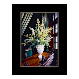 Window At The Manor Photography Poster Art Print