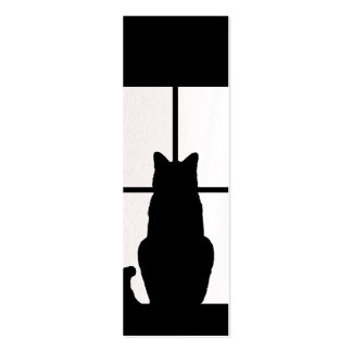 Window Cat Click to Customize Get any color decor Pack Of Skinny Business Cards
