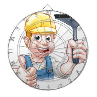 Window Cleaner With Squeegee Dartboard