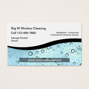 Window cleaning business cards business card printing zazzle window cleaning business cards reheart Images