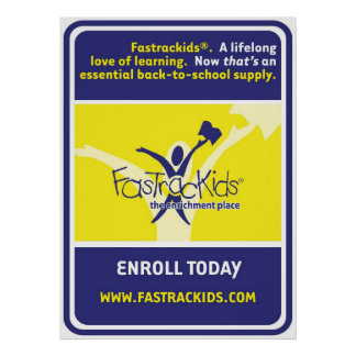 Window Cling - Back to School Poster