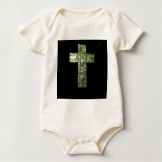 Window Cross Baby Bodysuit