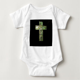 Window Cross Baby Bodysuit