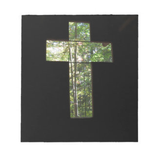Window Cross Notepad