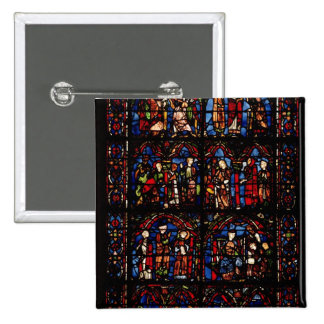 Window depicting scenes buttons