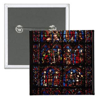 Window depicting scenes buttons