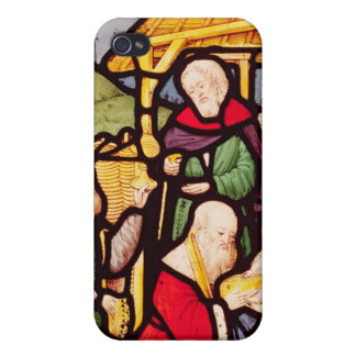 Window depicting the Adoration of the Magi iPhone 4 Case