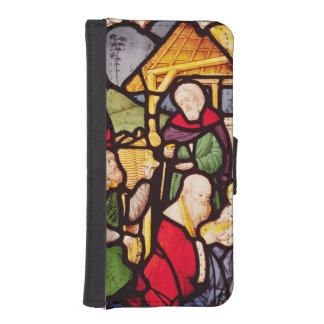 Window depicting the Adoration of the Magi iPhone 5 Wallet