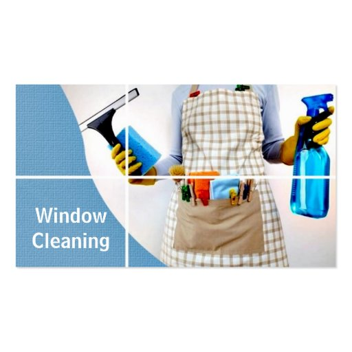 Window, Glass, House Cleaning Business Card