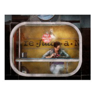 Window - Hoboken, NJ - Hale and Hearty Soups Postcard