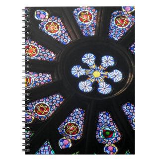 Window in Barcelona Spiral Notebook