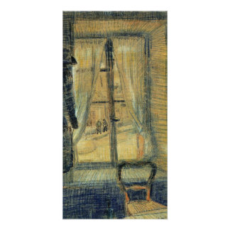 Window in the Bataille Restaurant by van Gogh Photo Card