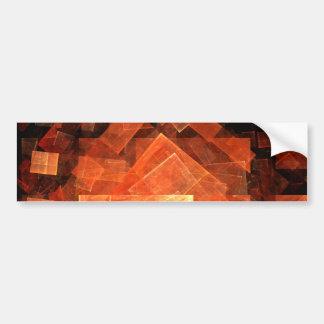Window Light Abstract Art Bumper Sticker