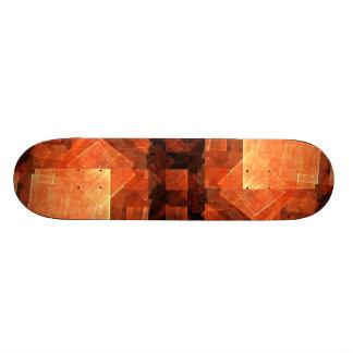 Window Light Abstract Art Skateboard