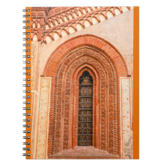 WINDOW OF GOTHIC STYLE   PHOTO NOTEBOOK