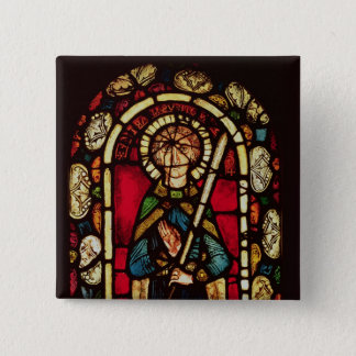 Window of St. Timothy 15 Cm Square Badge