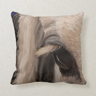 Window of the soul throw pillow