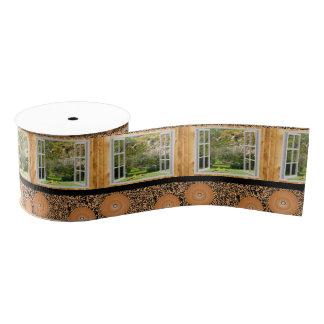 window open house ribbon grosgrain ribbon