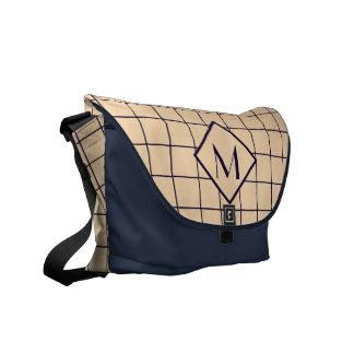 Window Pane Check Monogram Commuter Bag