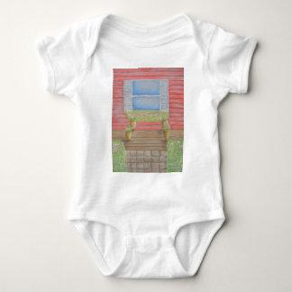 window porch baby bodysuit