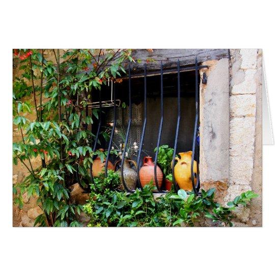 Window Pots II Card