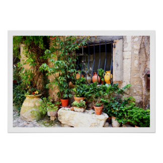 Window Pots Poster