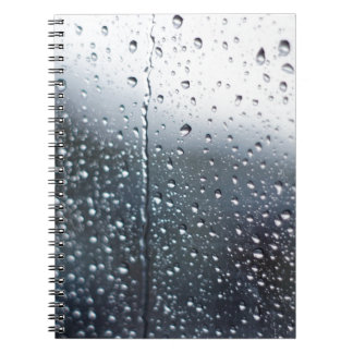 Window Raindrops Notebooks