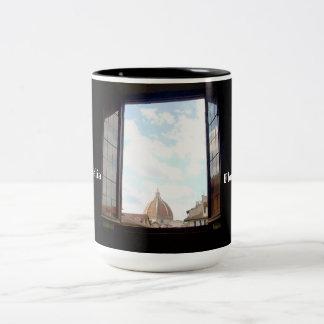 Window to Florence Mug