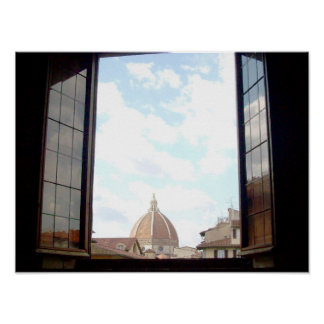 Window to Florence Poster
