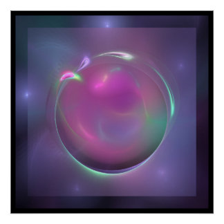 Window to the Purple Sphere Poster