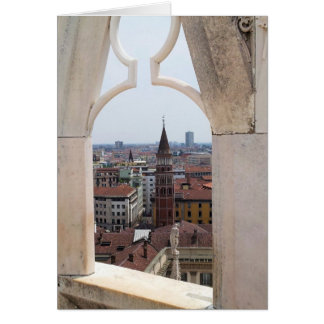 Window to the World Card - (from Milan Duomo)