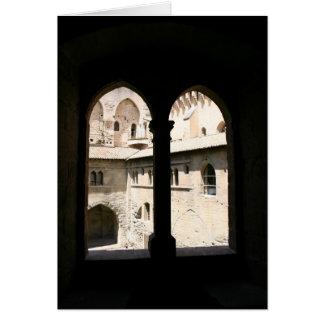 Window View Greeting Card