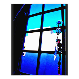 Window View Photo Print