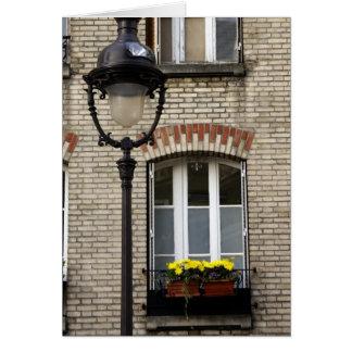 Window with Lantern Greeting Card