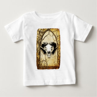 Windows and green animal bone baby T-Shirt