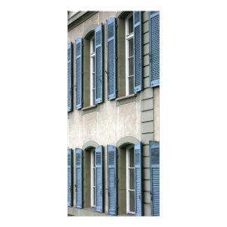 Windows at Bern, Switzerland Full Color Rack Card