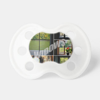 Windows Baby Pacifiers