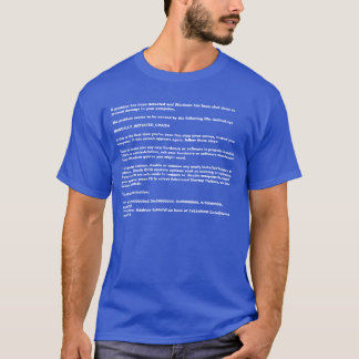 "Windows ""Blue Screen of Death"" Tee"
