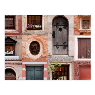 Windows & Doors Photo Grid Postcard