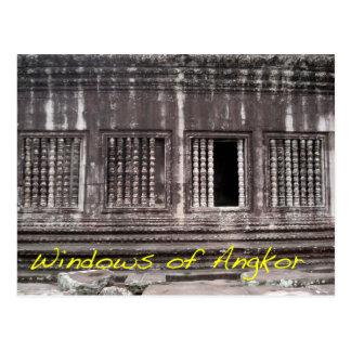 Windows of Angkor Postcard