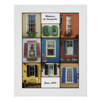 windows of annapolis poster