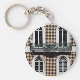 Windows of Lisbon Key Ring