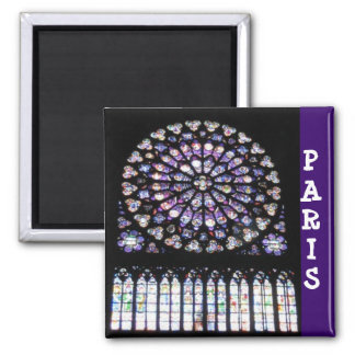 Windows of Notre Dame Magnet