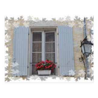 Windows of the Dordogne Postcard