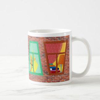 Windows on a Brick Wall Mug
