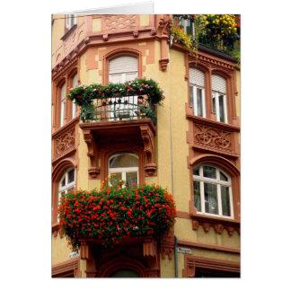 Windows on Heidelberg Note Card