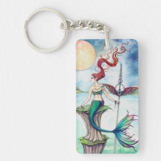 Winds of Ireland Mermaid Fantasy Art Key Ring