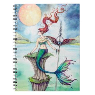 Winds of Ireland Mermaid Fantasy Art Notebook