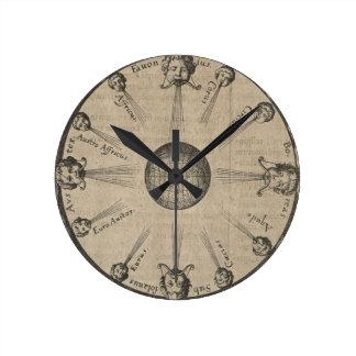 Winds Round Clock